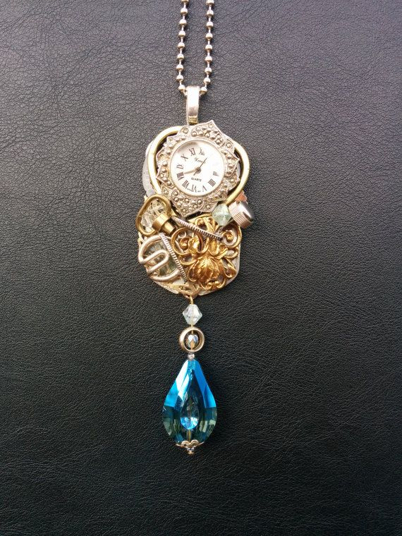 Upcycled and Re-Imagined Steampunk Jewelry using by DreamsinTime