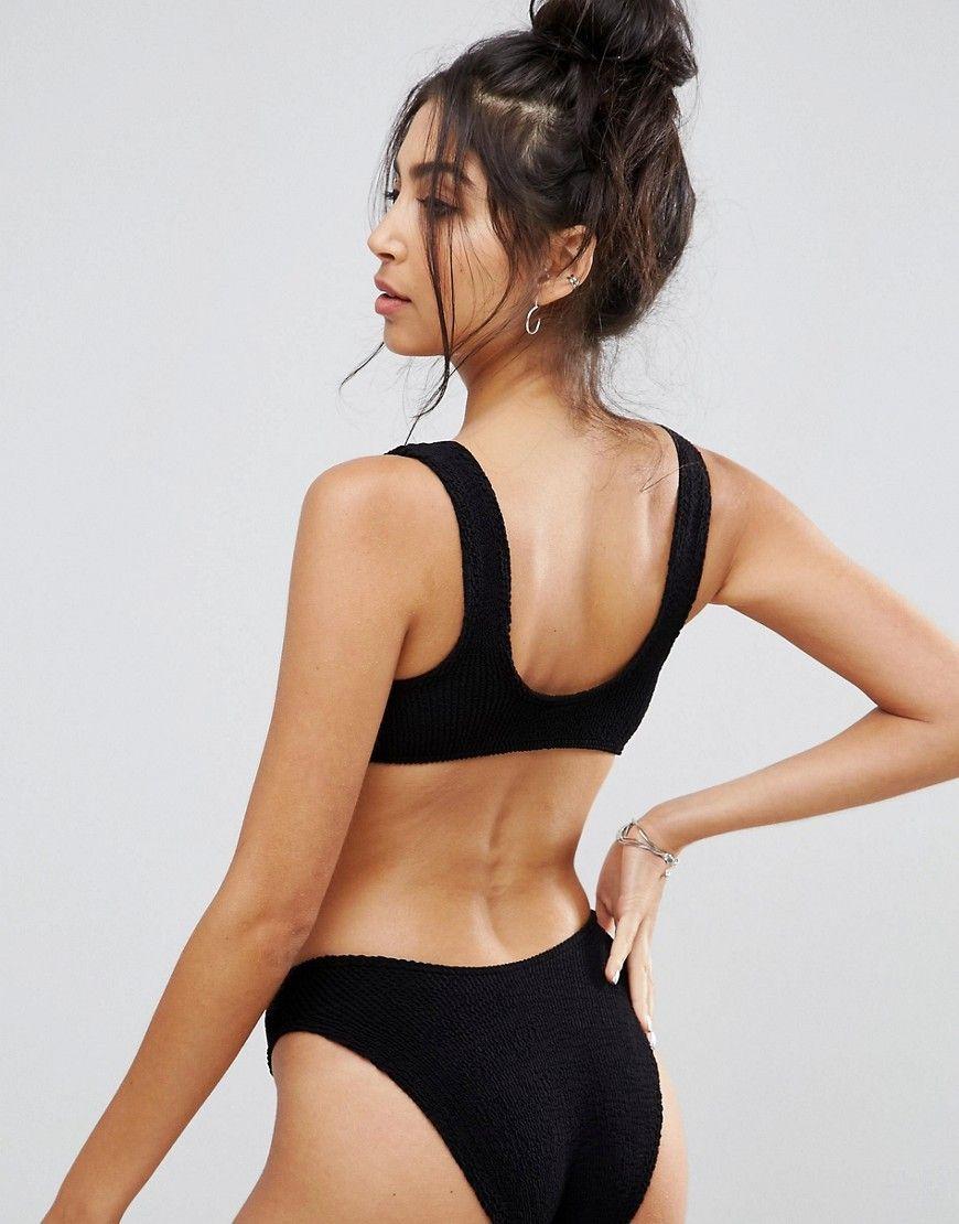 7a6db3cc8d27 DESIGN mix and match crinkle crop bikini top in 2019 | Closet Dreamz ...