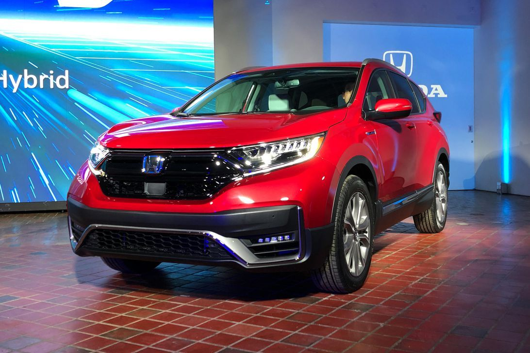 2020 Honda CRV Hybrid debuts with refreshed styling and