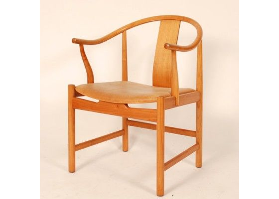 PP66 China Chair by Hans J. Wegner, n 1943, Hans J. Wegner presented his first version of this China chair. The model PP66 was produced by PP Møbler, the company which began producing the PP66 in 1976. The chair is made of cherry wood and in an excellent vintage condition. Price is per cha