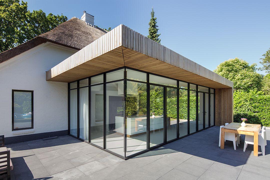 Droom uitbreiding luxe villa obly stalen deuren house home