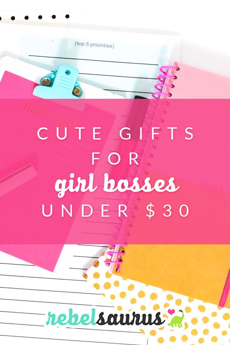 Cute Gifts For Girl Bosses Under 30 Cute Gifts For