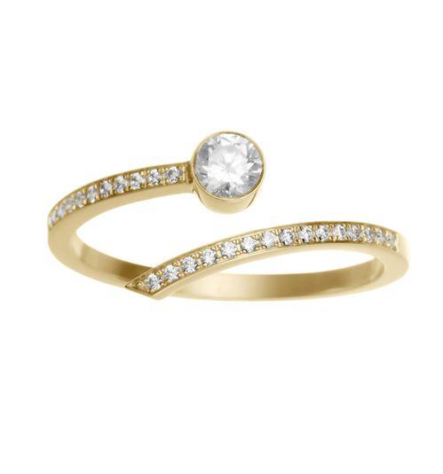 Bague de fiançailles Grand Amour de Sophie Bille Brahe en diamants