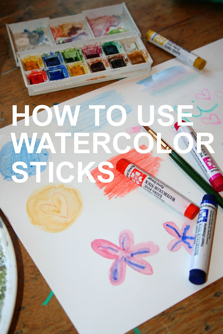 5 Ways To Make The Most Of Your Watercolor Sticks Watercolor