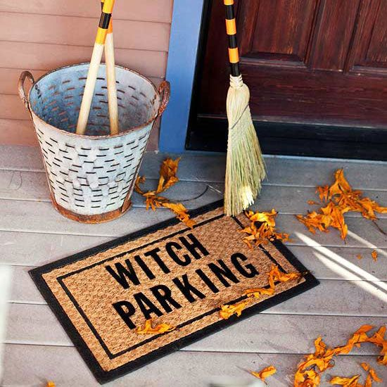 15+ Wickedly Fun Witch Halloween Decorations Witches and Witch decor - witch decorations