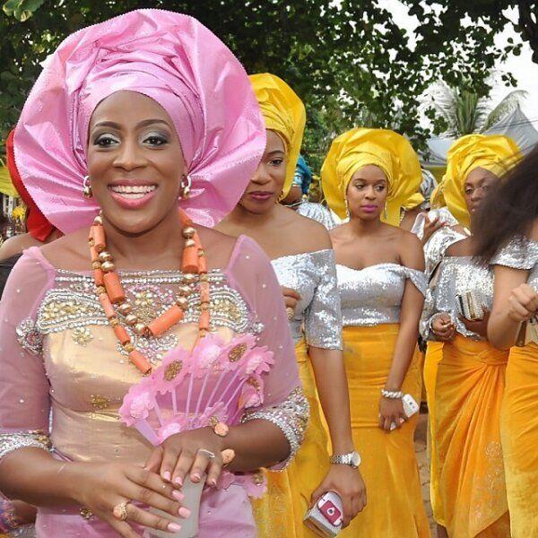 Traditional Nigerian Wedding Gowns: Nigerian Wedding: Igbo Brides, Traditional Styles