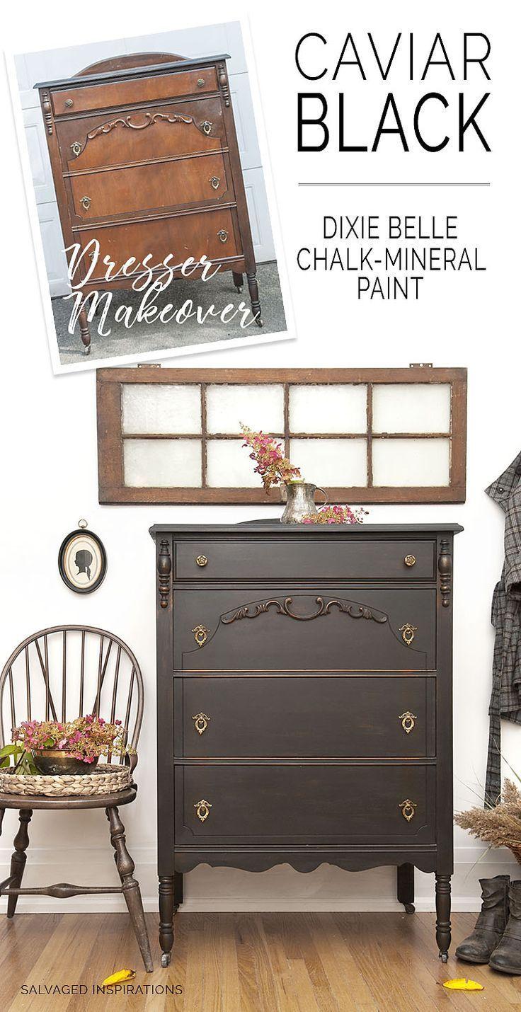 Caviar Style Vintage Dresser Makeover   alte Möbel, Vorher nachher ...