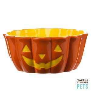 This Martha Stewart Pets Jack O Lantern Dog Bowl Is Sure To Add