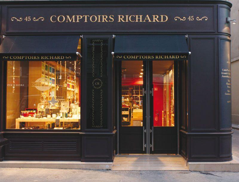Comptoirs Richard Coffee And Tea Shop Rue De Bretagne Paris By