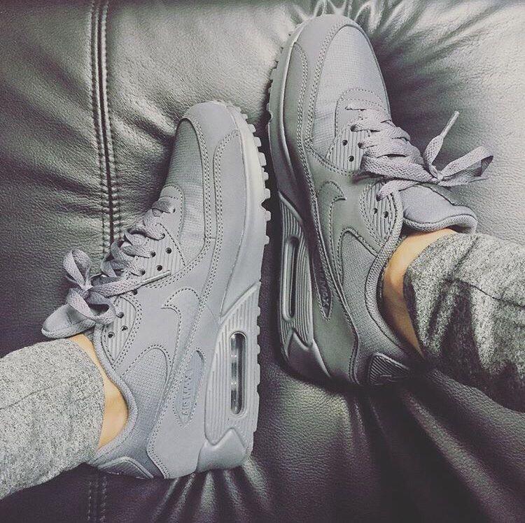 Grey AirMax 90 VinaKsena مجد Sneakers, Nike shoes, Nike
