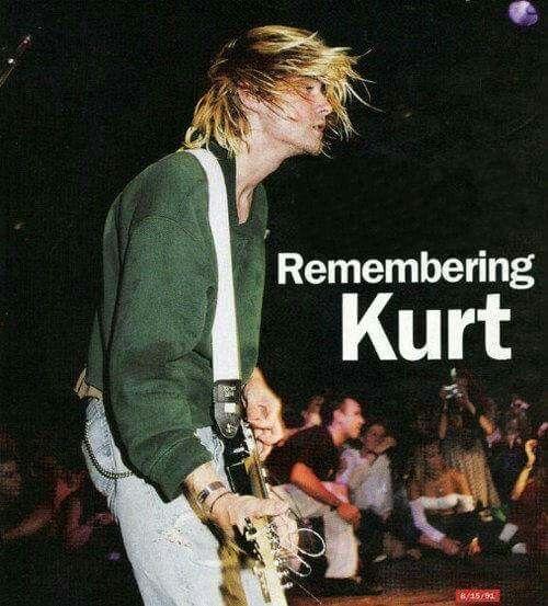 Always will Remember Kurt Cobain