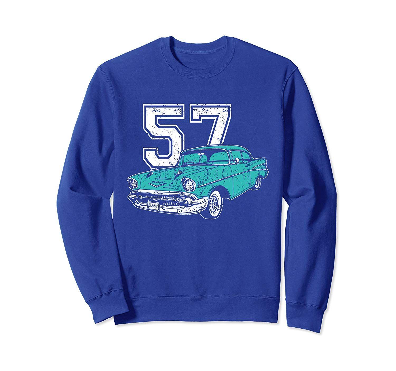 1957 Classic Car  Sweatshirt