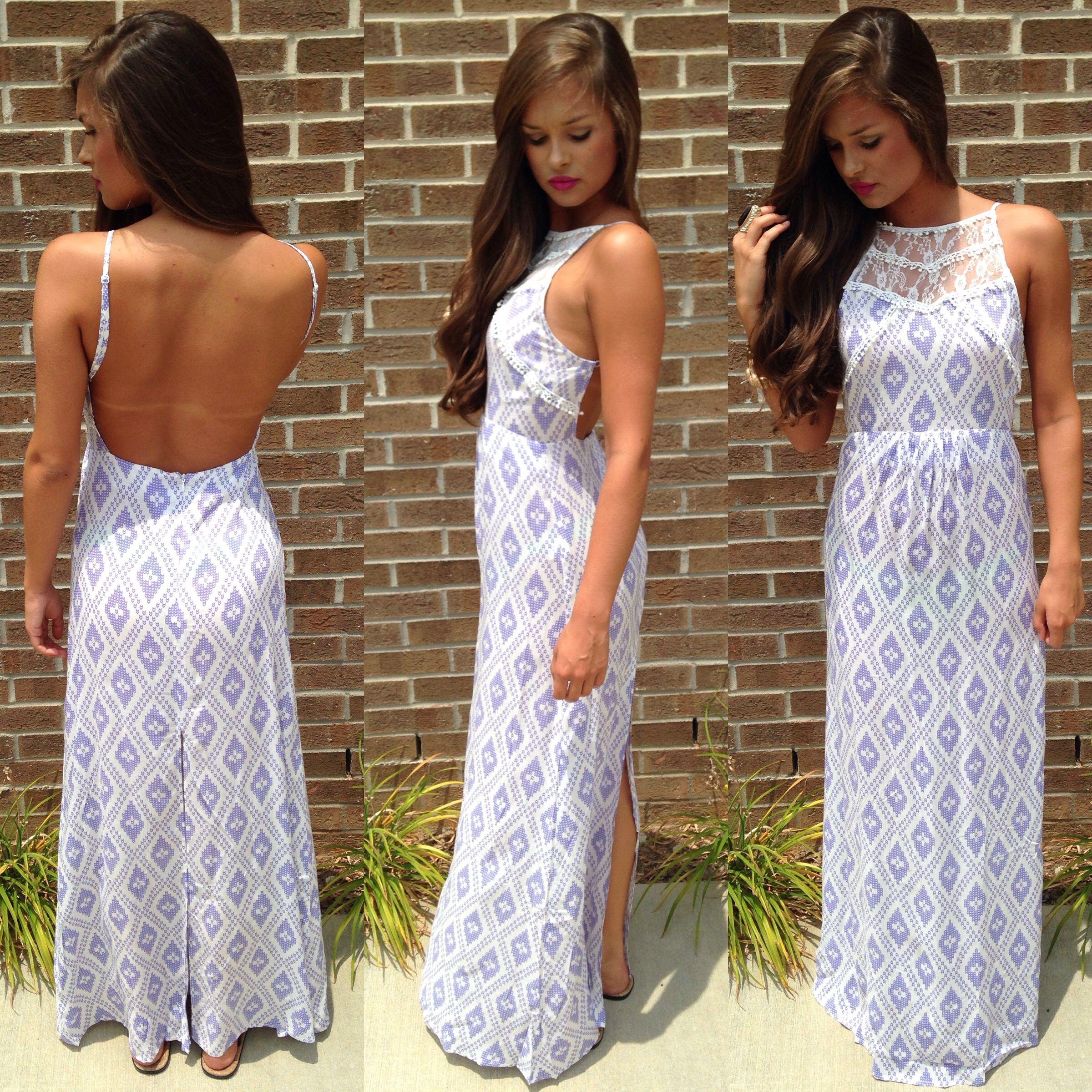 Summer maxi dress #swoonboutique