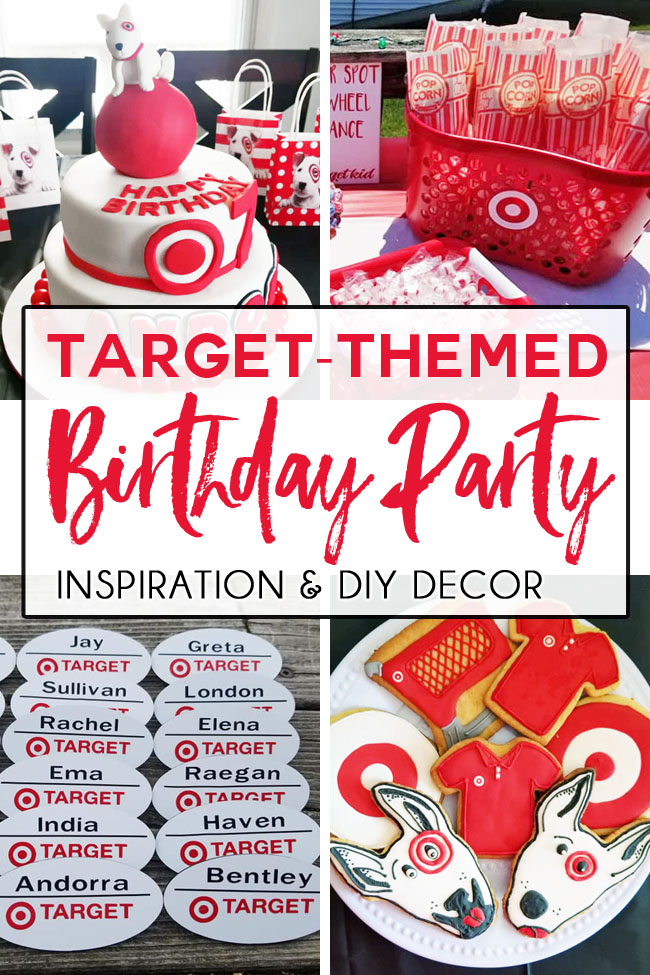 The Ultimate TargetThemed Birthday Party Girls birthday