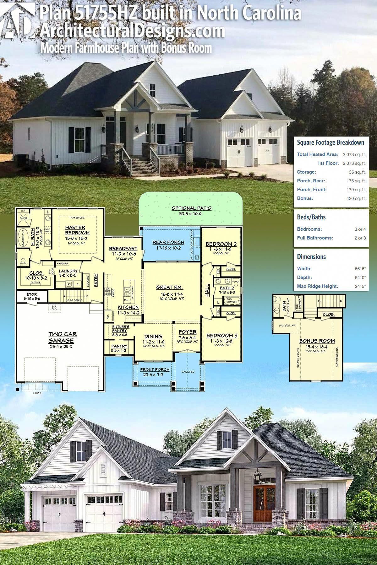 Our client built architectural designs house plan hz in reverse orientation north carolina the also rh pinterest