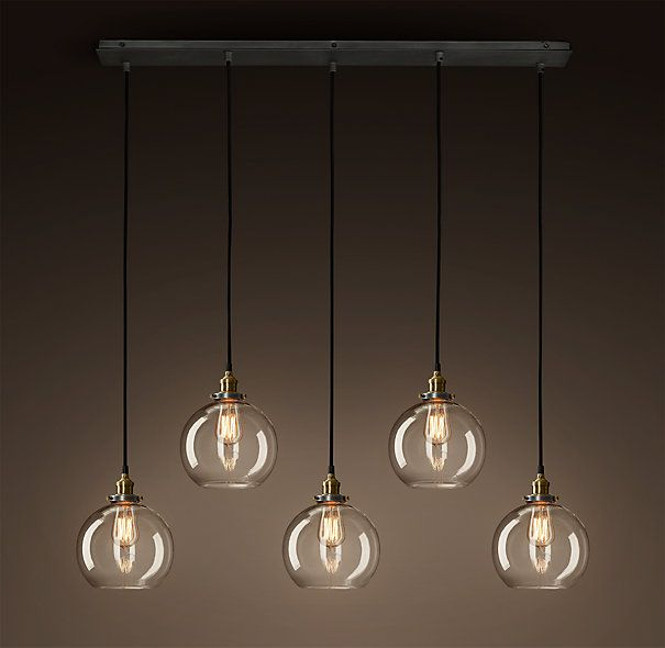 restoration hardware pendant lighting fixtures. factory filament clear glass café rectangular pendant:evoking early industrial lighting, our reproductions of vintage fixtures retain the classic lines and restoration hardware pendant lighting l
