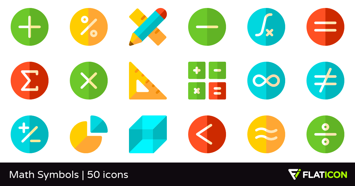 50 Free Vector Icons Of Math Symbols Designed By Freepik Symbol Design Symbols Vector Free