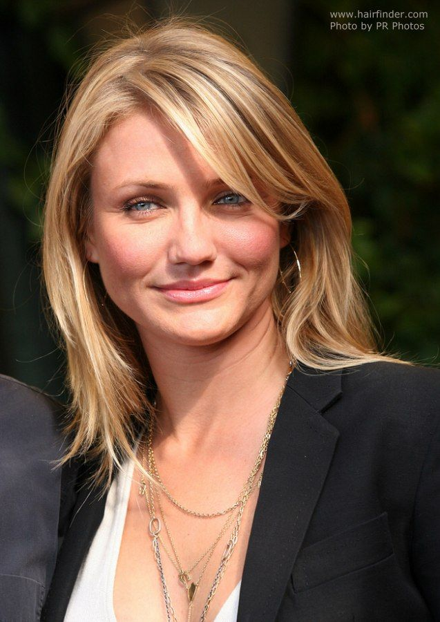 Love Her Hair Cameron Diaz Hair Hair Styles Hairstyle