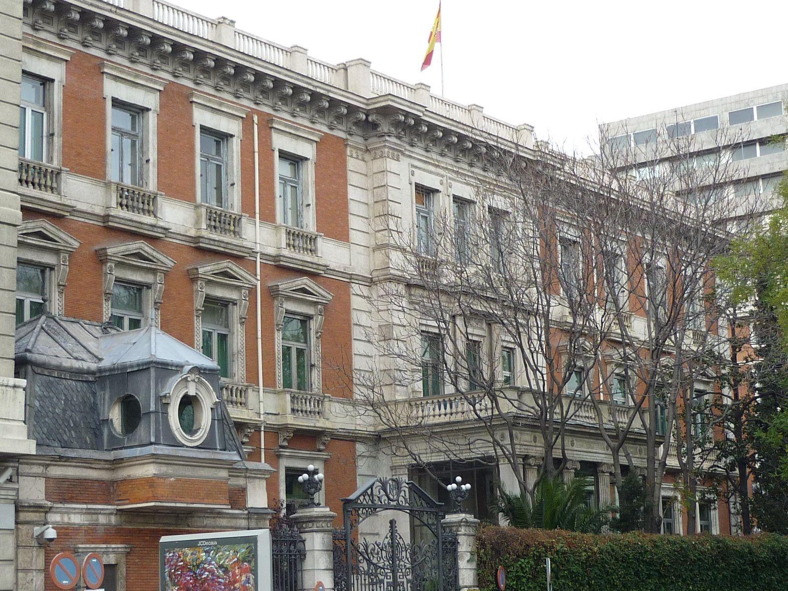 Palacio Del Marqués De Villamejor Família Real Espanhola Espanhol Família Real