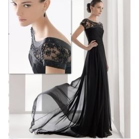Long Black Wedding Party Dress Gown From Madeinchina My