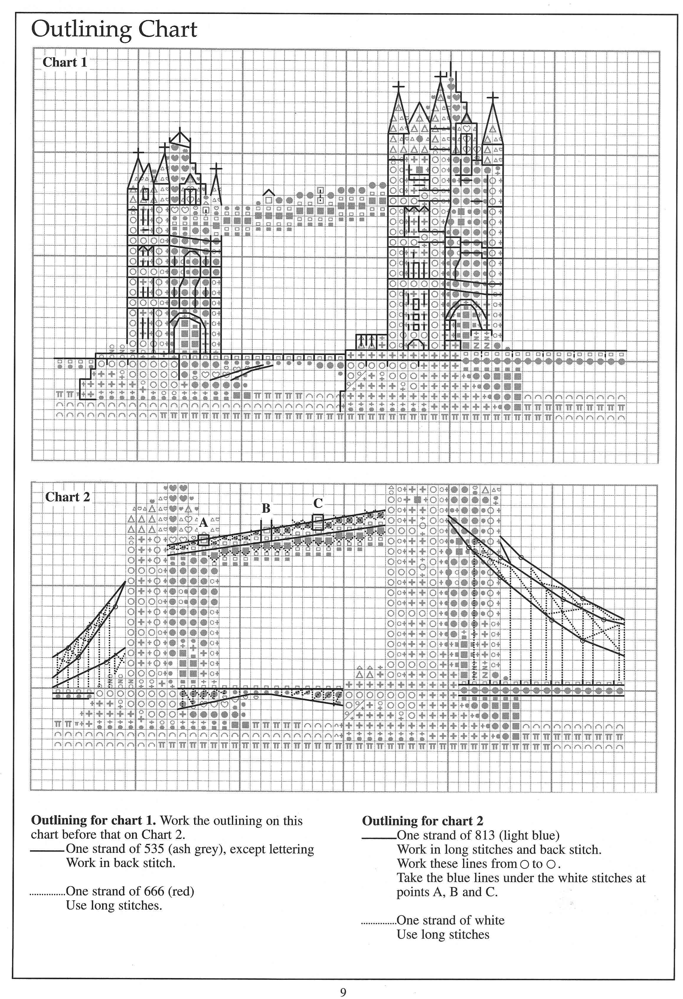 London Monuments9 | Cross Stitch | Pinterest | Punto de cruz, Puntos ...