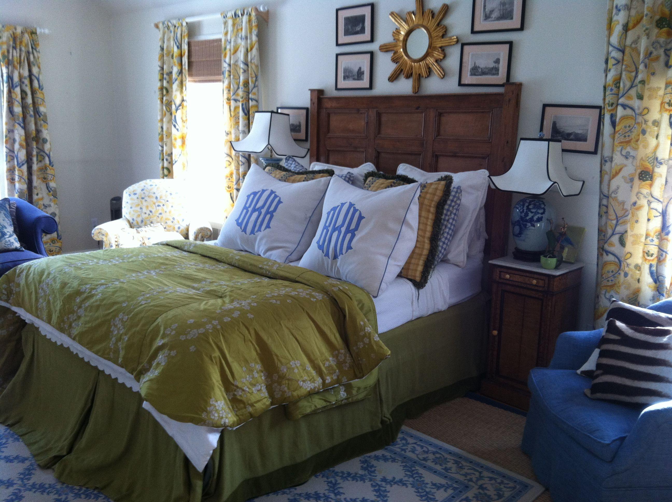 Bedrooms My beautiful Calico silk duvet