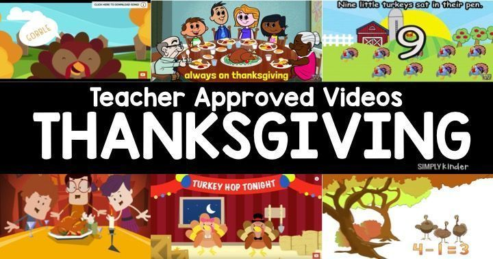 List of Thankful for my Students - Simply Kinder Thanksgiving Poems For Kids Today From simplykinder.com