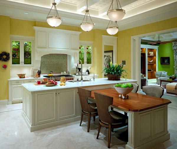 Kitchen Island With Expandable Table Google Search Kitchen Island With Table Attached Kitchen Island Table Kitchen Island With Seating