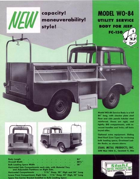 Stahl Utility Beds Jeep Utility Bed Utility Services