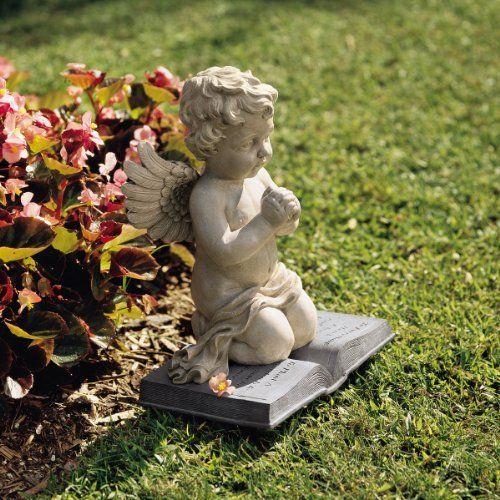 Baby Angel Praying Cherub Christian Garden Sculpture Statue Figurine  [Kitchen] Price : 54.95 Http