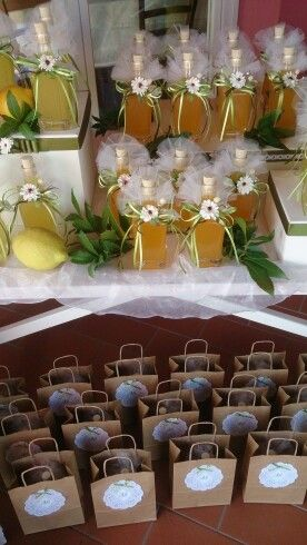 Segnaposto Matrimonio Limoni.Allestimento Bomboniere Matrimonio Tema Limoni Con Immagini