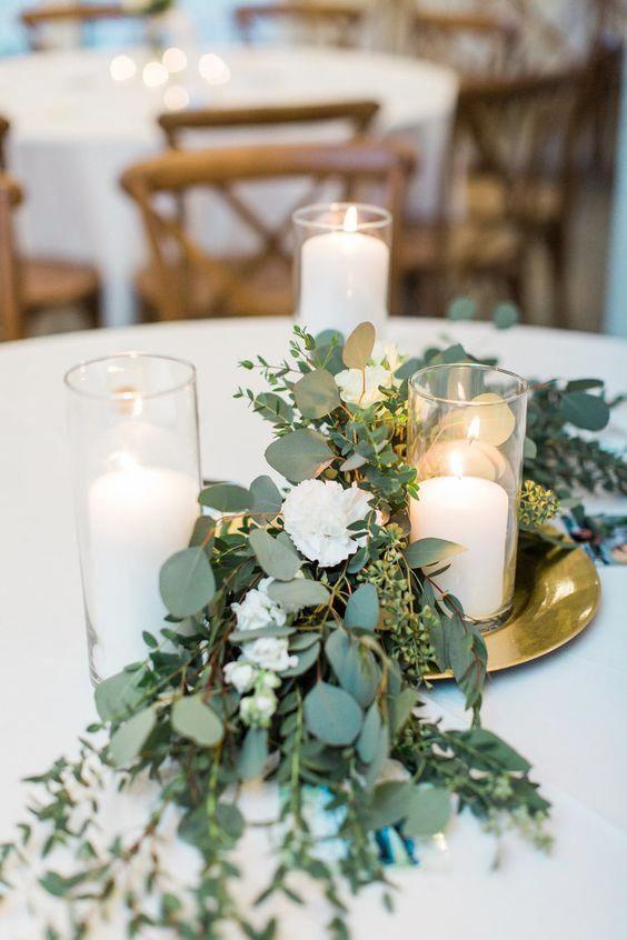 Photo of 37 centros de mesa románticos con velas para emocionarte