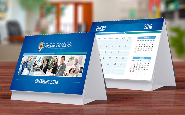 Calendario Ual.Calendario 2016 Ual Diseno Corporativo Calendario Diseno