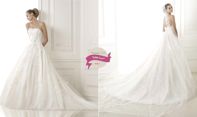 Robe de mariée Pronovias : Collection 201