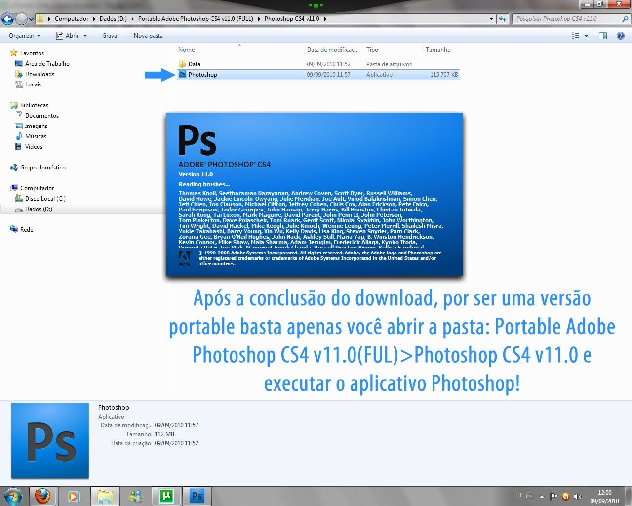 Portable Photoshop Free Portable Photoshop Cs4 Installer Quicriman Pinterest