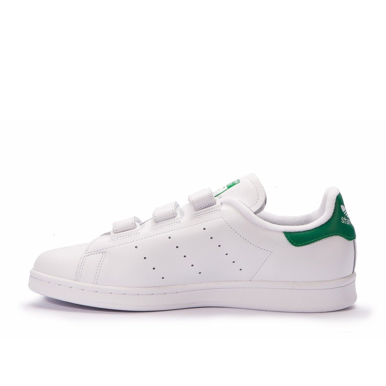 Buy Mens Adidas Stan Smith CF (White / Green) Originals Classic tennis shoe S75187 - uk