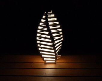 FLOWER BUD LAMP 30 architect design wood l& by WoodArtL&s  sc 1 st  Pinterest & FLOWER BUD LAMP 30 architect design wood lamp by WoodArtLamps | Red ...