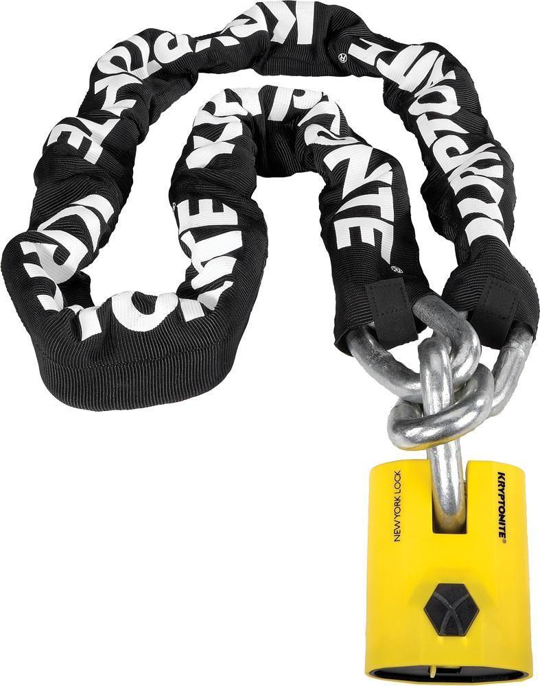 New York Legend Chain 3 Kryptonite Lock Cycling Accessories
