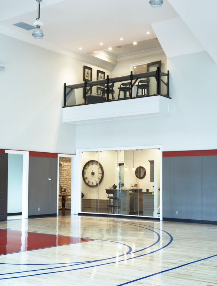 Marvelous Want This In My House. Indoor Basketball Court