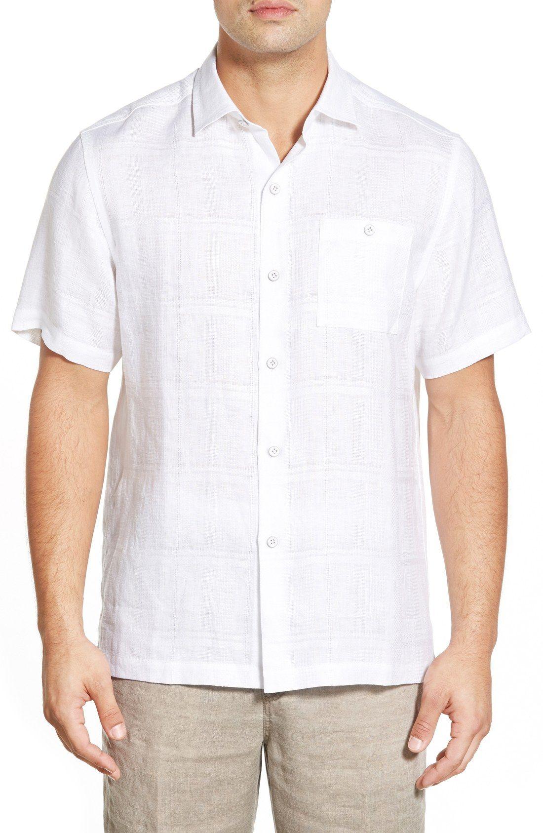 747e00d6b Tommy Bahama 'San Marino' Island Modern Fit Linen Camp Shirt | D + R ...
