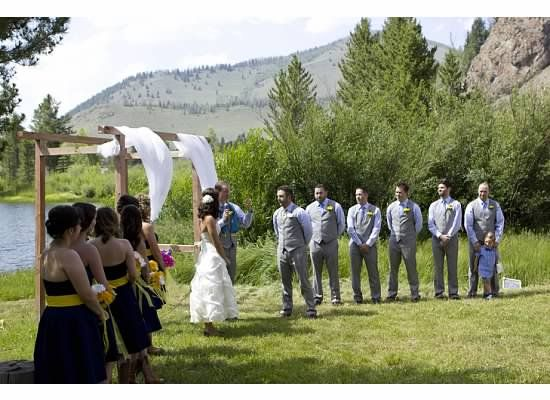 Our Wedding At Shadow Mountain Guest Ranch Shadowmountainguestranch Colorado Diy Budget