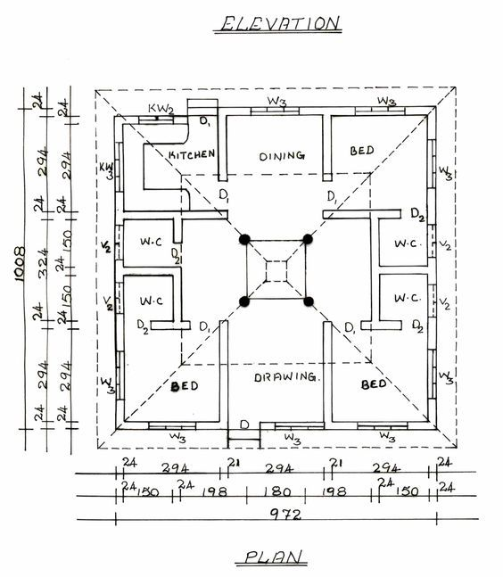 Beautiful South Indian Traditional House Plans   Google Search