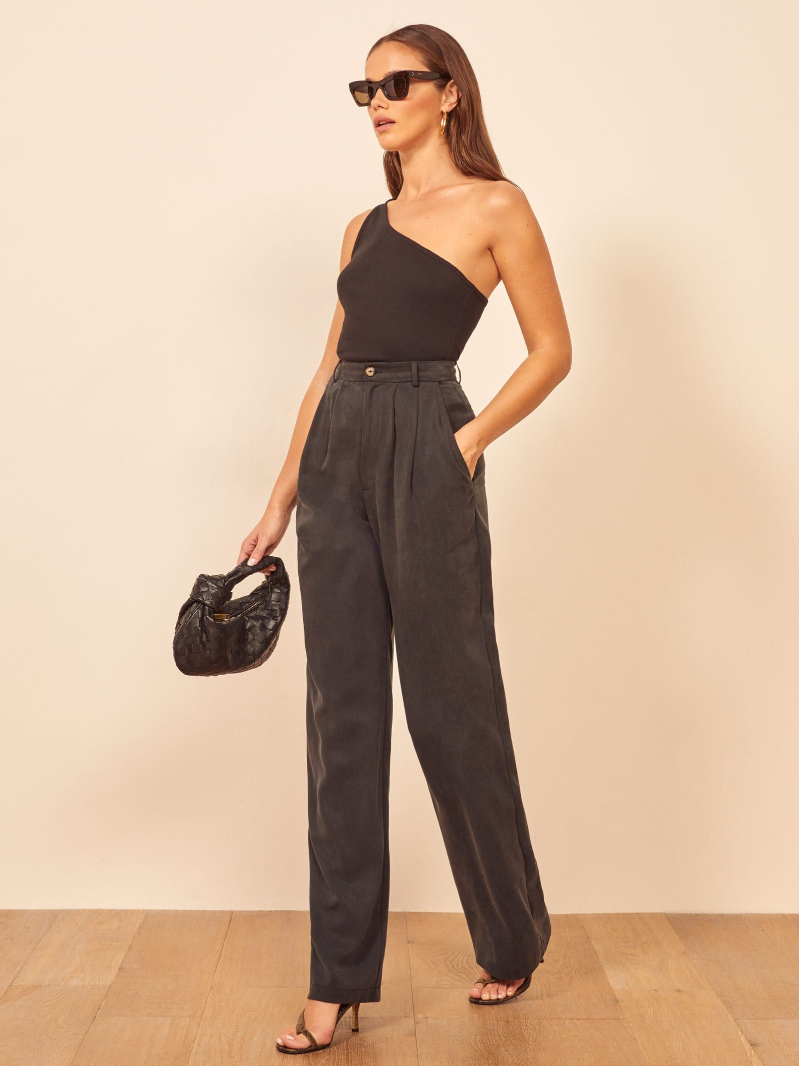 Mason pant contemporary outfits chic outfits office