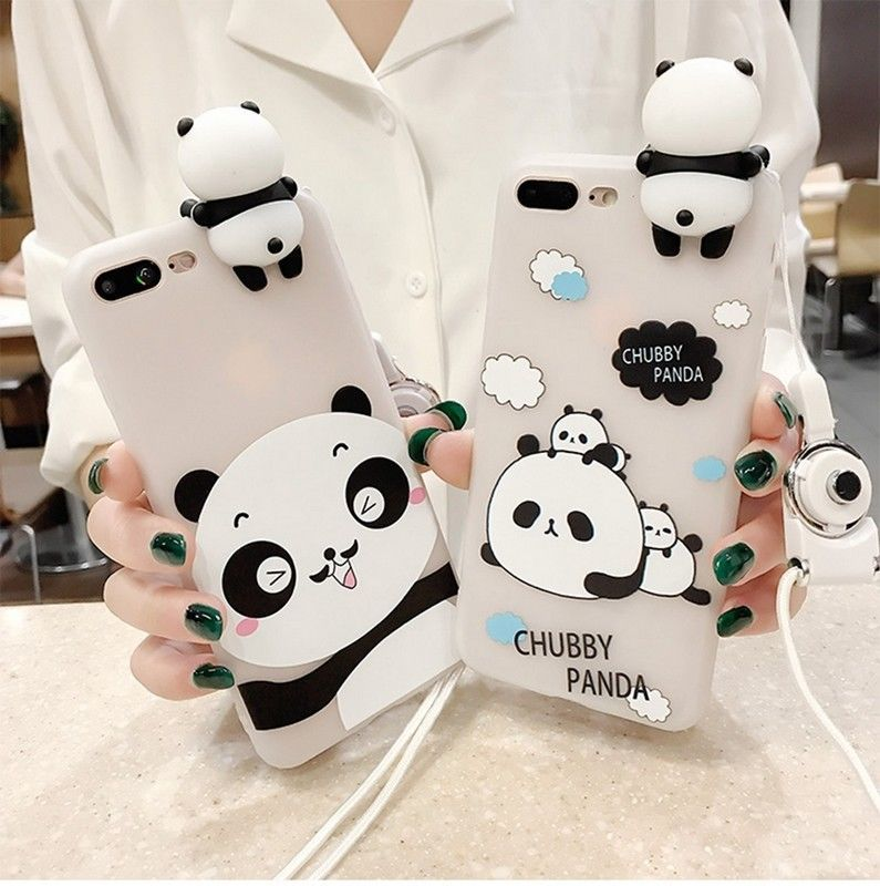 06e8e59b14 Squishy 3D Soft Silicone Panda Kneading Phone Case Cover For iPhone 7 6s 6  Plus #Unbranded