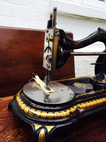 SewingMachineBradburyDukeOfWellingtonRareVictorianAntique Is Best Sewing Machine Wellington