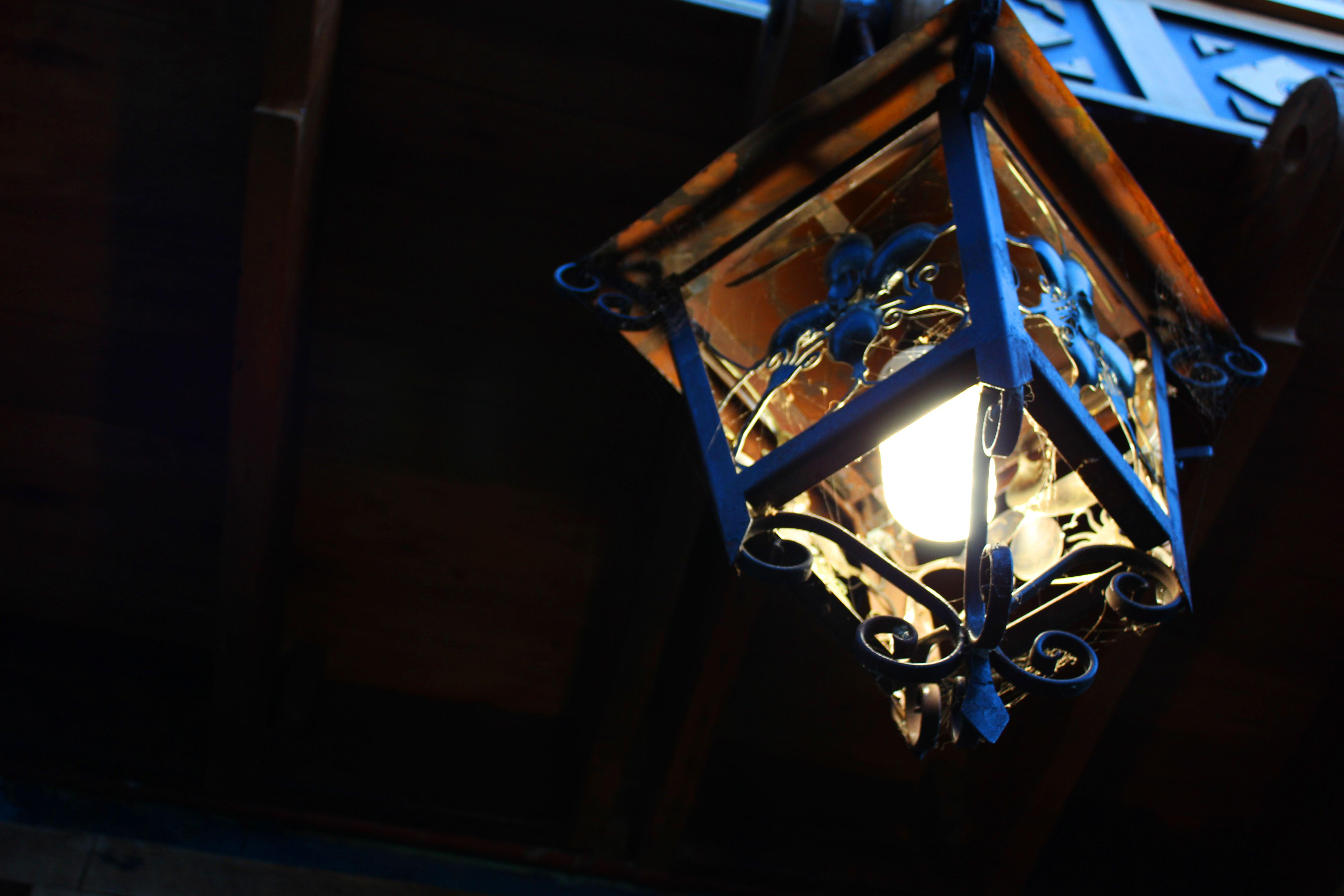 Pequeña lampara