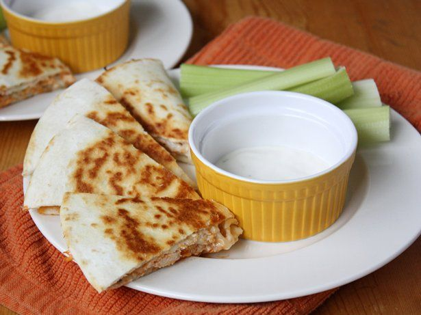 Blogger Stephanie Wise of Girl versus Dough turns up the heat with these spicy chicken quesadillas.Learn to make this recipe with our how-to article.