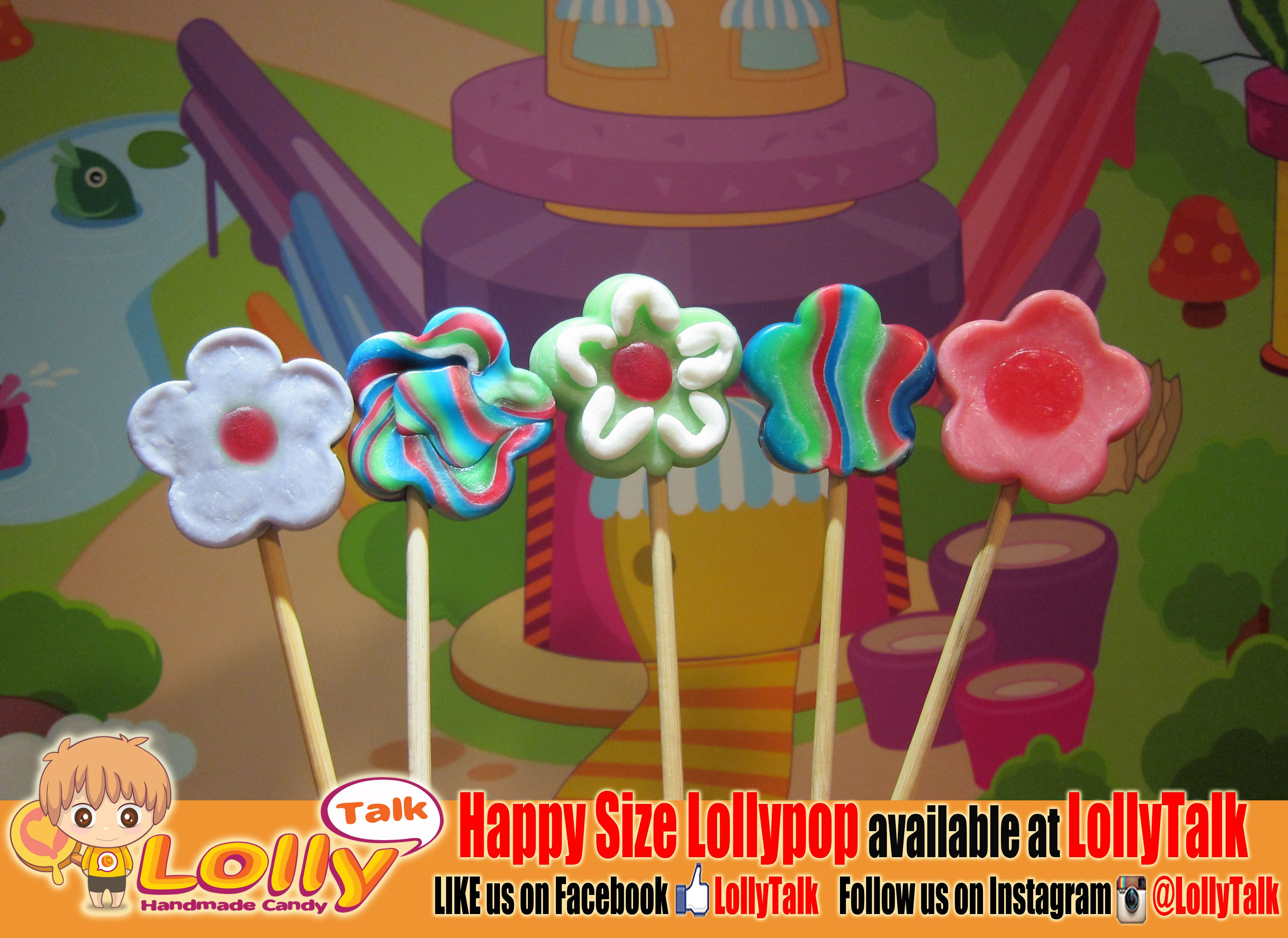 May Flower lollypop at LollyTalk!