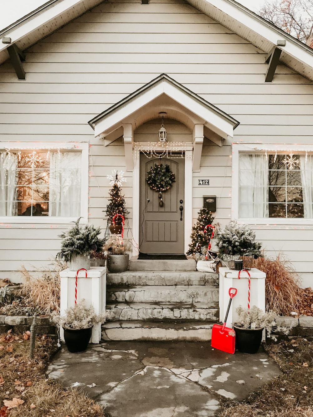 2019 Christmas House Tour - The Wicker House