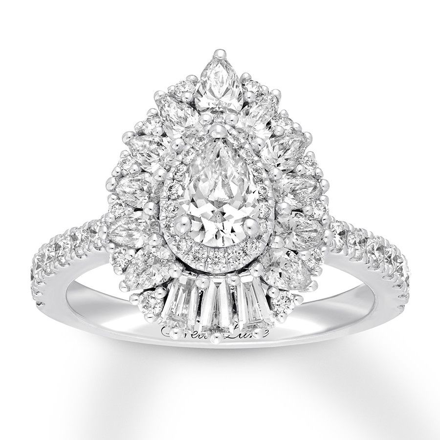 158b60054bd6d Neil Lane Diamond Engagement Ring 1-7/8 ct tw 14K White Gold in 2019 ...